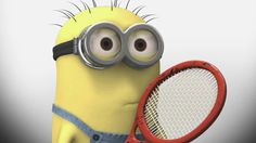 tennis minion - Google Search
