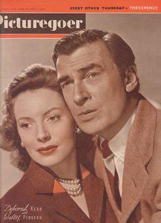 Vintage Picturegoer UK Film Magazine 1947 Deborah Kerr, Walter Pidgeon, Ivor Novello by FattyandBaldy on Etsy