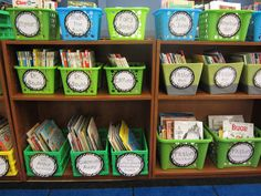 Library Organization for Children's Books. The Creative Chalkboard: Classroom Tour Pictures Galore!