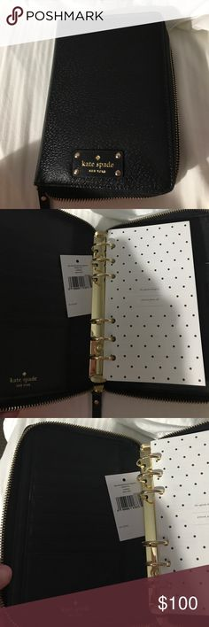 Kate Spade planner 2016 inserts. You can purchase the inserts separate. I just never used this kate spade Accessories Key & Card Holders