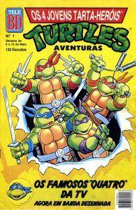 Os 4 Jovens Tarta Herois - Todos os Numeros   As Tartarugas Ninja foram um grande fenómeno no início dos anos 90. Depois do aparecimento da série de TV muitos foram os estúdios e empresários que tentaram imitar o formato mas sem conseguir alcançar o grande sucesso das Tartarugas. As Tartarugas Ninja começaram por ser uma BD publicada nos Estados Unidos pela Mirage Studios em 1984. A BD foi criada por Kevin Eastman e o seu amigo Peter Laird. Mais tarde com o licenciamento do agente Mark…