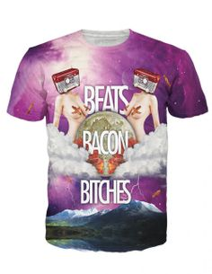 Beats Bacon Bitches Shirt