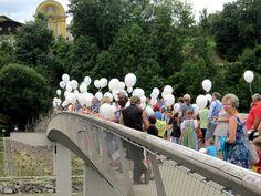 Luftballonweitflugwettbewerb