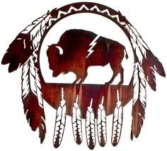 Our aim is to assist you in giving your rooms a rustic feel with our collection of metal wall art pieces. We have Bear Wildlife Wall Art that is unique. Hanging Wall Art, Metal Wall Art, Wall Hangings, Arte Equina, Buffalo Art, Buffalo Logo, Looks Country, Native American Crafts, Native Design