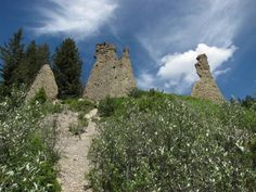Canmore Hoodoos -Hiking in  Canmore, Alberta