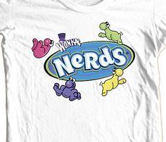 Nerds-Willie-Wonka-T-shirt-candy-100-cotton-retro-1980s-graphic-tee