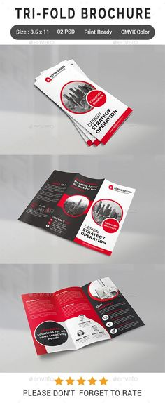 Printable Tri Fold Brochure Template Professional Business Proposal Templates Design  7 .