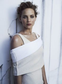 InStyle Editorial December 2013 - Jennifer Lawrence by Michelangelo di Battista