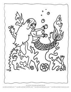 1000 images about Under the Sea Coloring or Painting