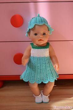 Наш летний костюмчик Колокольчик - Гардероб для куклы - Страна Мам