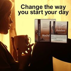 Start your day with a cup of Mochatonix and super charge your morning: http://ow.ly/LS9mN