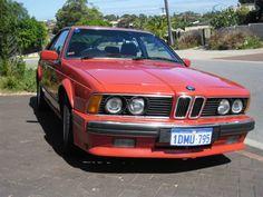 1989 BMW 635CSi E24