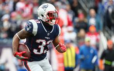 Download wallpapers Dion Lewis, 4k, NFL, running back, England Patriots, american football