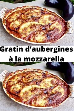 Eggplant gratin with mozzarella - - Mozzarella, Best Dinner Recipes, Breakfast Recipes, Snack Recipes, Healthy Dinners For Two, Italian Chicken Recipes, Vegetarian Snacks, Keto, Food Humor