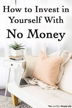 You can afford to invest in yourself! It's so important for all women -- in your in your and far beyond! Get some ideas and tips for how you can invest in you life, health, career, and more -- even if you don't have a lot of money. Great motivation too! Ways To Save Money, Money Saving Tips, Money Tips, Live For Yourself, Improve Yourself, Track Spending, Best Way To Invest, Womens Wellness, Career Inspiration