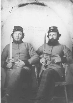 Brothers Benjamin Franklin Ammons & Raiford Franklin Ammons served with the 1st Tennessee Heavy Artillery.
