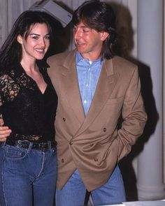 """Gwen. on Instagram: """"Mayor throwback to somewhere in the 90s. I love it when she smiles. 😍❤️ #monicabellucci #bellucci #brunette"""" Beautiful Couple, Beautiful Outfits, Rihanna Short Hair, Monica Bellucci Young, Bridgitte Bardot, Italian Actress, Feminine Dress, Old Hollywood, Hollywood Stars"""