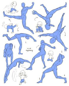 Figure Drawing Reference MiyajimaMizy @ MizyMiyajima — Drew some eggs and his action poses from episode. Action Pose Reference, Art Reference Poses, Anatomy Reference, Leg Reference, Male Figure Drawing, Figure Drawing Reference, Drawing Base, Poses Manga, Anime Poses