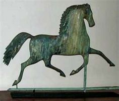 Antique Horse Weathervane