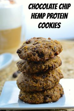 com chocolate chip hemp protein cookies chocolate chip ...