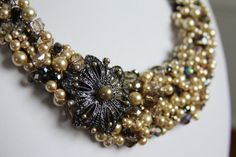 Vintage Inspired Chunky Necklace Set  by TheAubrinaCollection, $215.00