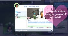 My Sims 4 Blog: Updated - The Sims 4: Fashion Career Mod by BrittPinkieSims