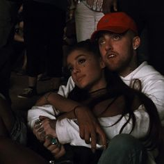 Ariana Grande and Mac Miller at Coachella