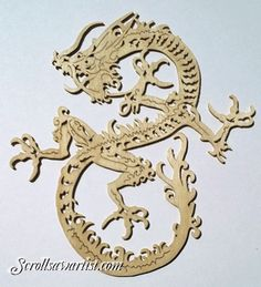 Scroll Saw Patterns :: Mythical :: Dragons -