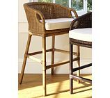 """Wingate Rattan Barstool, 26"""" seat height, two colors (Pottery Barn)"""