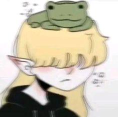 Creative Profile Picture, Cute Anime Profile Pictures, Matching Profile Pictures, Cute Anime Pics, Cute Pictures, Emo Art, Grunge Art, Picture Icon, Cute Frogs