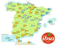 Esperando el sol en buena parte de España. A disfrutar del fin de semana. #felizFindeSemana #felizViernes #sol #buenTiempo #ibsa #conservamoslanaturaleza