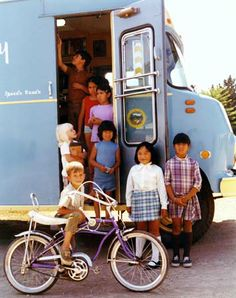 Santa Cruz Public Library Bookmobile, 1972