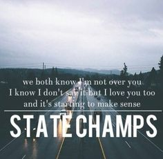 Leave you in the dark - state champs