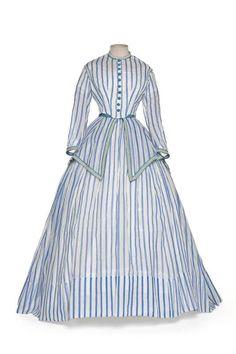 Dress, 1868-1872.