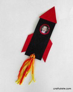 Rocket Bookmark for Kids - help them whooooosh into their next book!