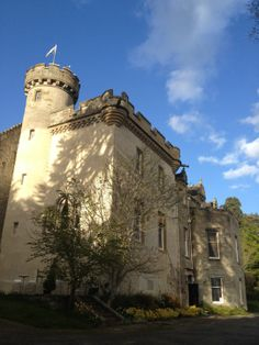 A haunted Baronial castle...
