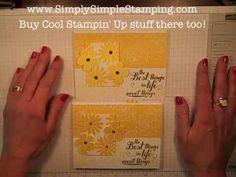 Simply Simple FLASH CARDS 2.0 - Secret Garden Sunshine Card VIDEO by Connie Stewart