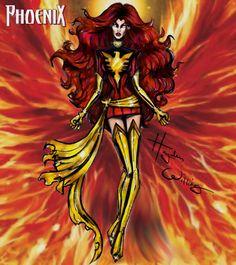 #Marvel Divas by Hayden Williams : Dark Phoenix