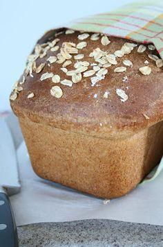 Homemade Honey Oat Bread...
