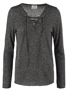 VMLUA  - Langærmede T-shirts - black