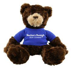 AK204 - Dark Brown Plush Hold A Bear - Promotional Bear For Businesses #bear #healthcare