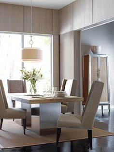 Monterey #Dining set from #Brownstone #furniture. Relaxing and modern!