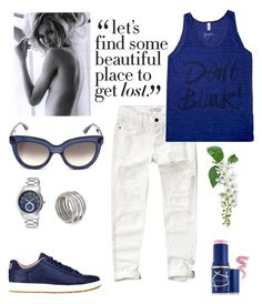 """""""Get Lost."""" by schenonek ❤ liked on Polyvore featuring Abercrombie & Fitch, NIKE, Lucien Piccard, Valentino, Elizabeth Arden and Kelly Wearstler"""