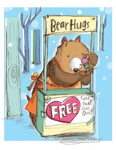 Bear Hugs FREE Take one! Give One! ©Shirley Ng-Benitez For everyone – #hugsfromkidlit Download High Res PDF print here Hi everyone -...