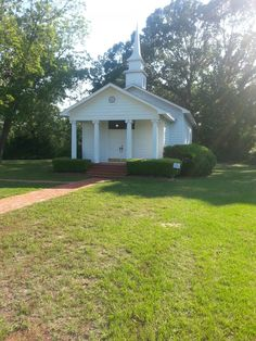 The Historic Wedding Chapel at Roseland Plantation circa 1857
