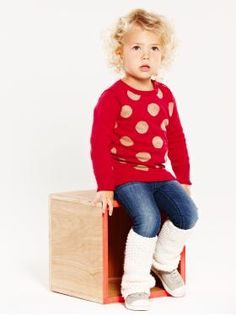 Baby Clothing: Toddler Girl Clothing: We ♥ Outfits   Gap - love those leg warmers with sneakers