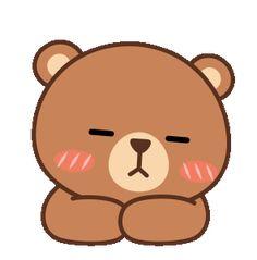 관련 이미지 Cute Cartoon Pictures, Cute Couple Cartoon, Gif Pictures, Good Night Gif, Good Night Image, Cartoon Gifs, Cartoon Art, Bear Gif, Love You Gif