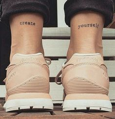 Image de tattoo, shoes, and create