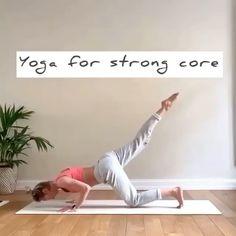 Fitness Workouts, Fitness Workout For Women, Yoga Fitness, Yoga Flow, Yoga Meditation, Yoga Sculpt, Yoga Moves, Core Yoga Poses, Yoga Balance Poses