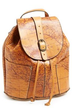 Patricia Nash 'Vasto' Leather Backpack available at #Nordstrom